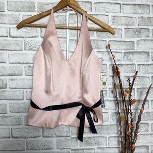 NWT XScape by Joanna Chen Blush party Halter Top
